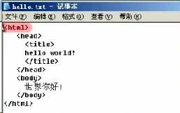 网页基础代码(1)
